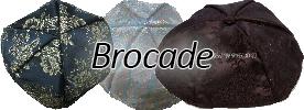 Brocade Yarmulkes