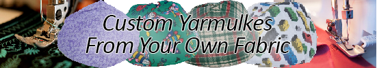 Custom Yarmulkes