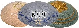 Knit Yarmulkes