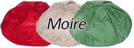 Moire Yarmulkes
