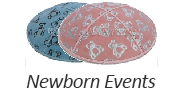 Newborn Events Suede Yarmulkes
