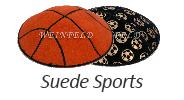 Sports Suede Yarmulkes