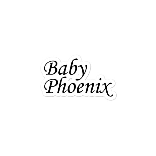 Baby Phoenix Bubble-free stickers