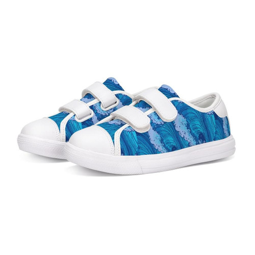 Find Your Coast Kids Tidal Wave Velcro Shoes
