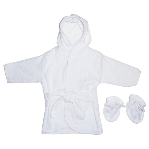 Bambini Blank Terry Robe