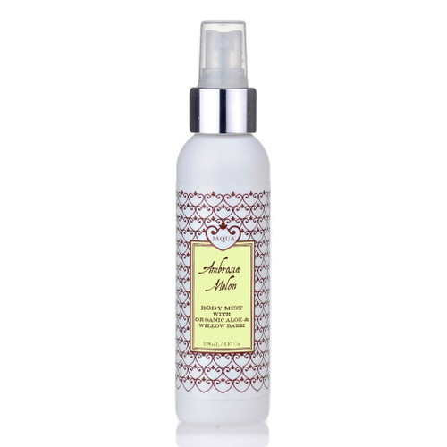 Ambrosia Melon Hydrating Body Mist With Organic Aloe & Willow Bark