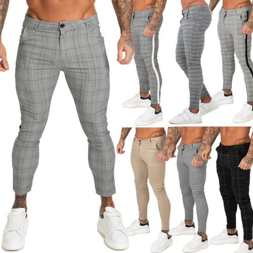 GINGTTO Men Chinos Trousers