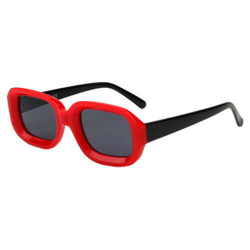 ERII | S1050 - Women Retro Vintage Square Sunglasses