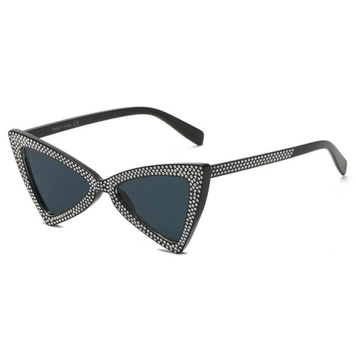 CANBERRA | S1078 - Women Retro Vintage Extreme Cat Eye Sunglasses