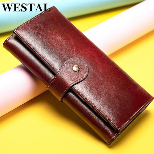 WESTAL Women's Genuine Leather Clutch / Wallet