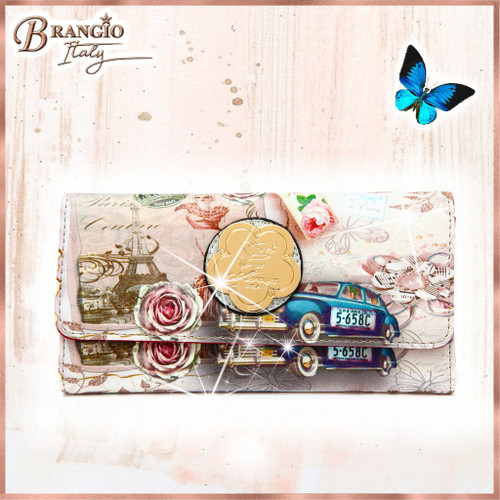 Center Stage Vintage Fashion Wallet for Women