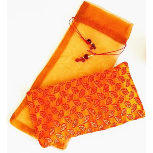 OMSutra Silk Eye Pillow - Paisely  Design