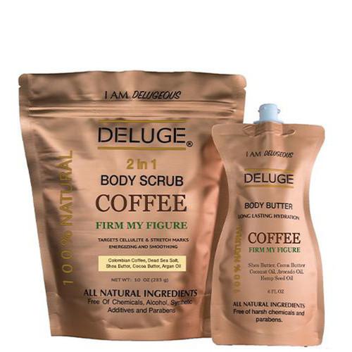 COFFEE SCRUB and COFFEE BUTTER