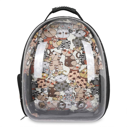 Clear Cat and Dog Carrier Backpack