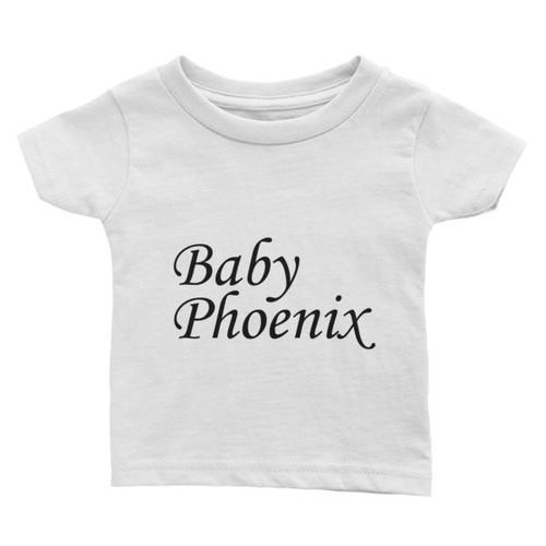 Baby Phoenix Black Logo Infant Tee