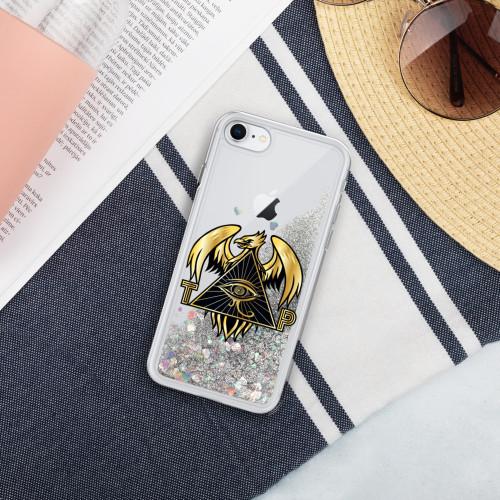 TPI I-Phone Liquid Glitter Phone Case