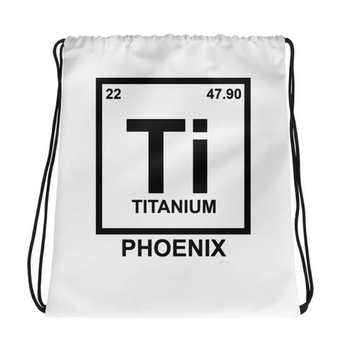 Ti Element Drawstring bag