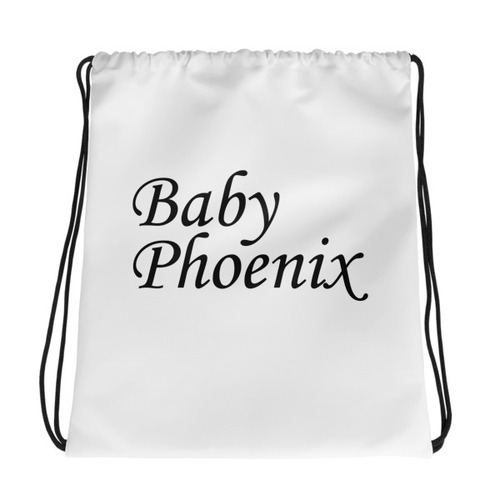 Baby Phoenix Drawstring bag