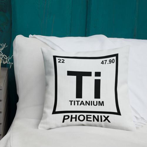 Ti Element Square Premium Pillow