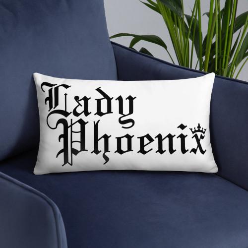 Lady Phoenix Rectangular Pillow