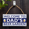 Dad's Beer Garden Sign