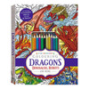 Kaleidoscope Colouring Kit: Dragons, Dinosaurs, Robots and More