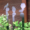 Native Birds Stainless Steel Garden Stake