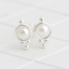 Pearl Stud Earrings