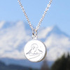 Keke Silver Mighty Maunga Silver Necklace