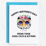 Cool Cats & Kittens Mother's Day Card