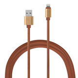 PU Leather Charging Cable