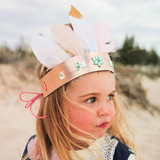 Make Your Own Glam Crown - Pink Glitter Crown