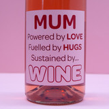 Mum. Sustained by Wine