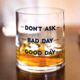 Don't Ask Double Old Fashioned Glass