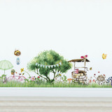 Bugs Life Magical Village Wall Decal