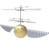Golden Flying Snitch Heliball