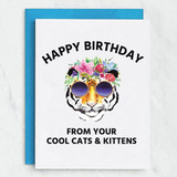 Cool Cats & Kittens Birthday Card