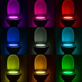 The Lightbowl - LED Toilet Seat Light