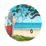 Graham Young: Tire Swing Coaster - 4pk