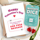 Massage Dice & Voucher Card