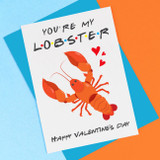You're My Lobster Valentine's Card