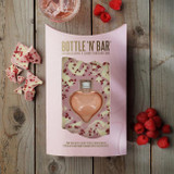 Bottle 'n' Bar: Pink Gin, White Chocolate & Raspberry Valentine's Edition