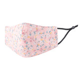 Adult Pink Floral Ditsy Print Reusable Face Mask