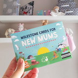 Milestone Cards for New Mums