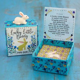 Bunny Lucky Charm In Box
