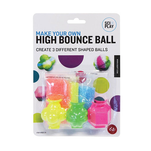 Sci-Play Make Your Own High Bounce Ball