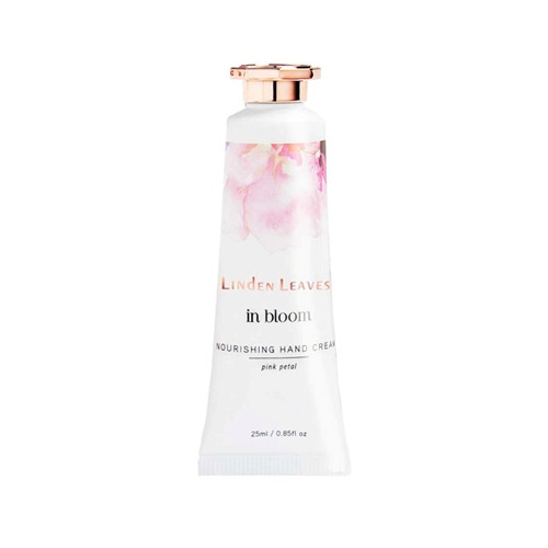 Linden Leaves Pink Petal Travel Hand Cream