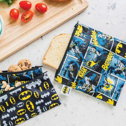 Batman 3pk Snack Bag Combo