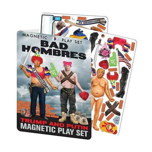 Bad Hombres - Trump & Putin Magnetic Dress Up Doll Play Set