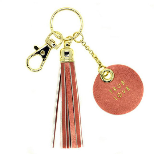 True Love Tassel Keychain